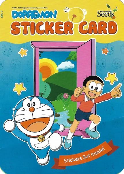 DORAEMON Sticker Card STC - Series 7